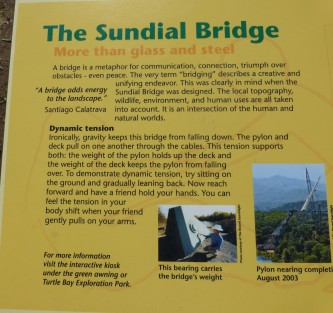About Sundial Bridge