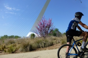 East side of Sun Dial Bridge