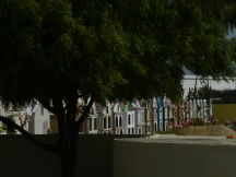 Colorful Cemetery in Aruba