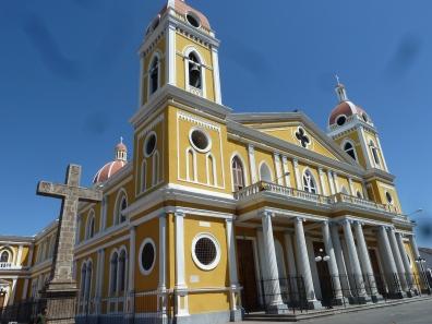 Old Church in Grenada, Nicaragua