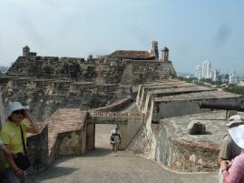Castillo de San Felipe, Cartagena Colombia