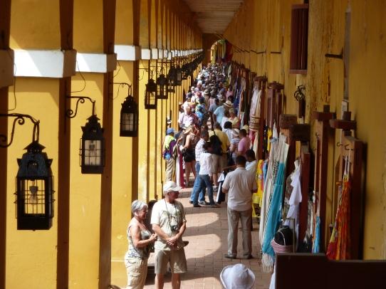 Shopping at Cartagena