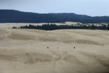 Towering Dunes, note the tiny people