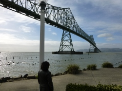 Under the Astoria Megler Bridge