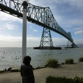 Under the Astoria Megler Bridge