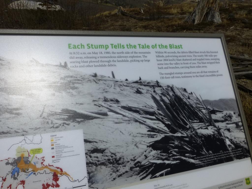 Mount St Helen eruption