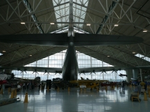Back View of Spruce Goose