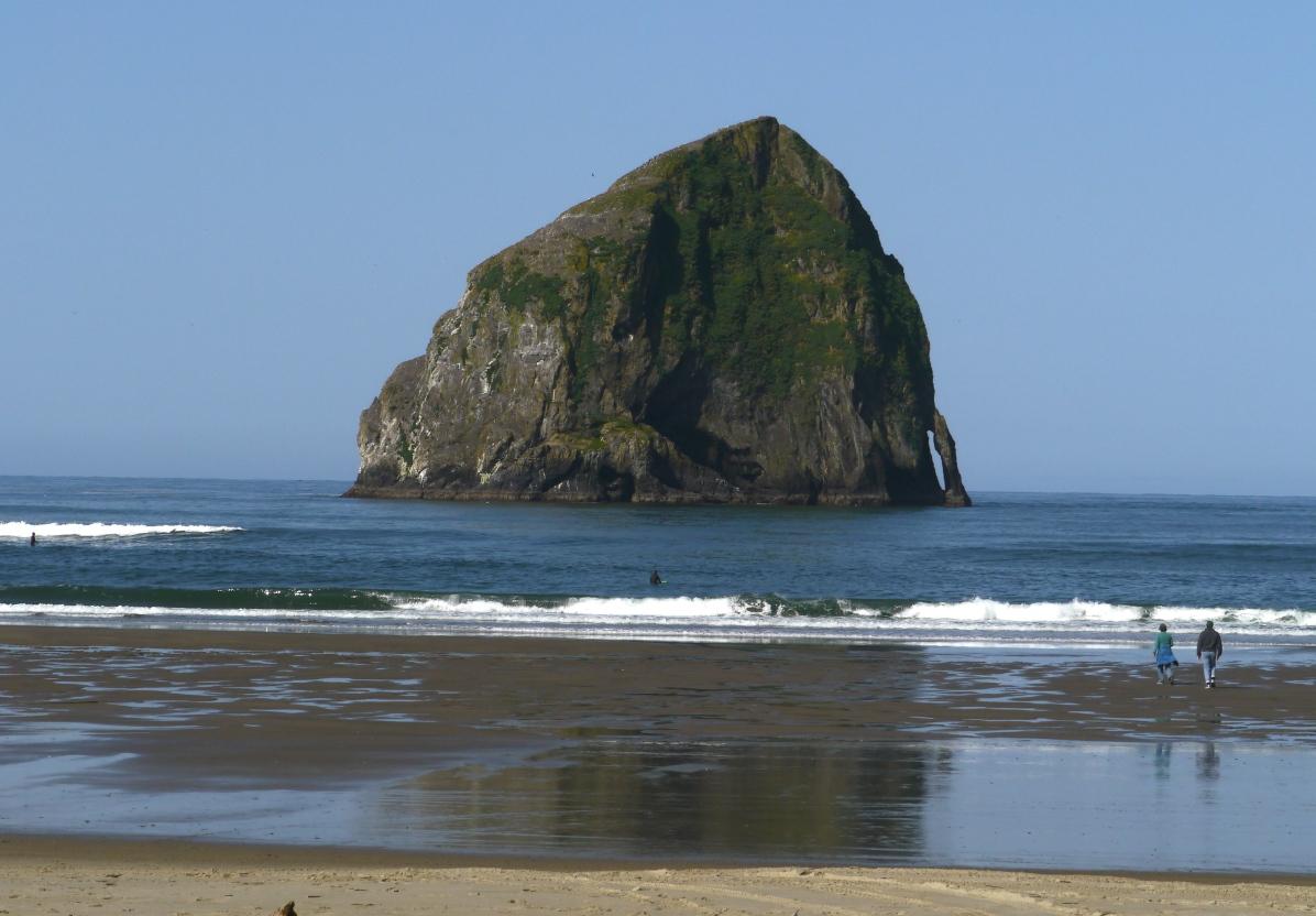 Haystock Rock at Cape Kiwanda