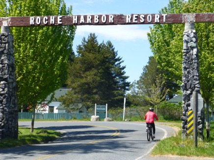 Entrance to Roche Harbor