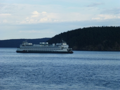 One of the ferry that hauls visitors /locals to the Islands