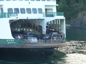 Amazing how many vehicles one of these ferries holds