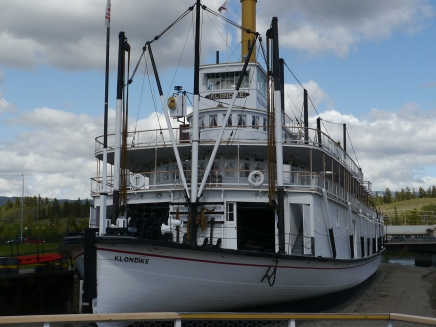 SS Klondike; a sternwheeler that ran off of wood fuel and carried cargo and passengers in 1942