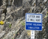 You do not want to be seen littering in WA