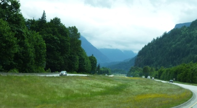 Heading towards Fraser Canyon