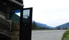 Lunch break at Fraser Canyon