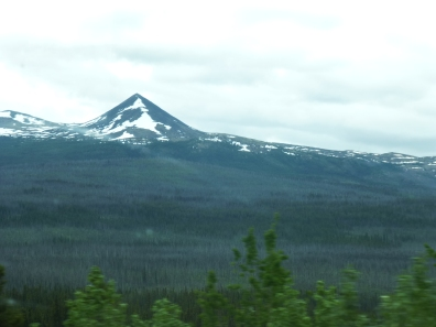 a pyramid shaped Simpson Peak