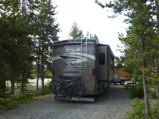 Boondocking at Hi Country RV Park