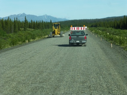 Gravel Breaks, Alaska HIghway
