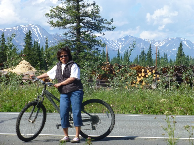 Biking in Alaska