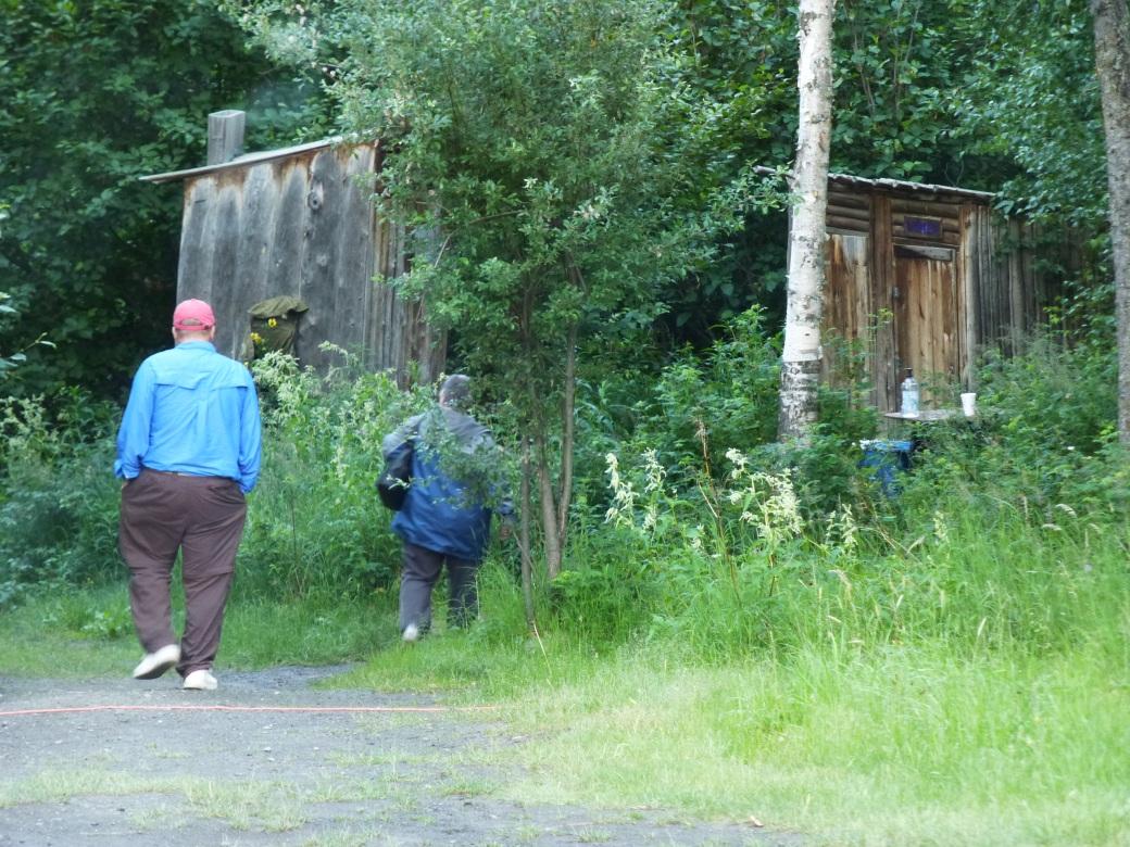 Alaska outhouses