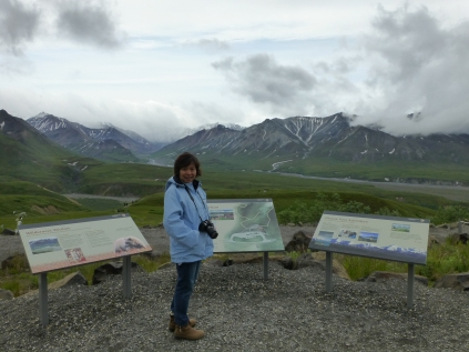 Eielson Visitor Center at Mile 66.