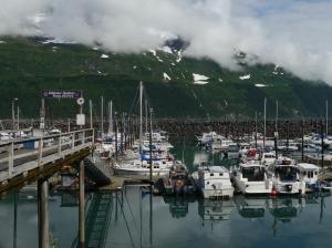 Harbor at Whittier Alaska