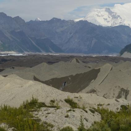 Rocky moraine,Alaska