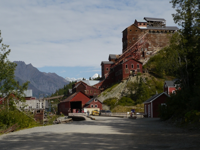 Kennecott Copper Mill, the building on the hill to the right is huge!, Alaska