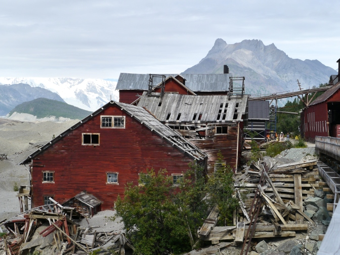 Kennecott mill,Alaska