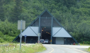 Entrance to Tunnel at Whittier