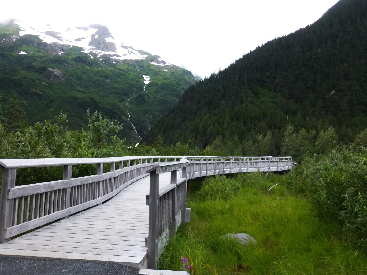 Trail of Blue Ice, Portage AK