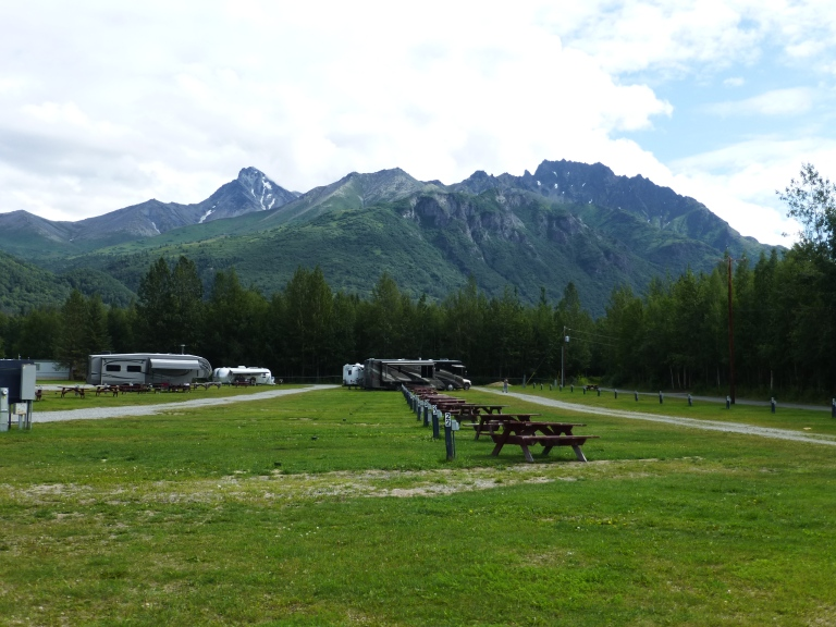 Mountain View RV Park, Palmer Alaska