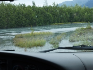 River Bed at Knik Glacier, Palmer