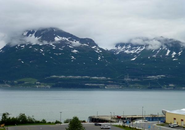 Terminus of Trans-Alaska pipeline