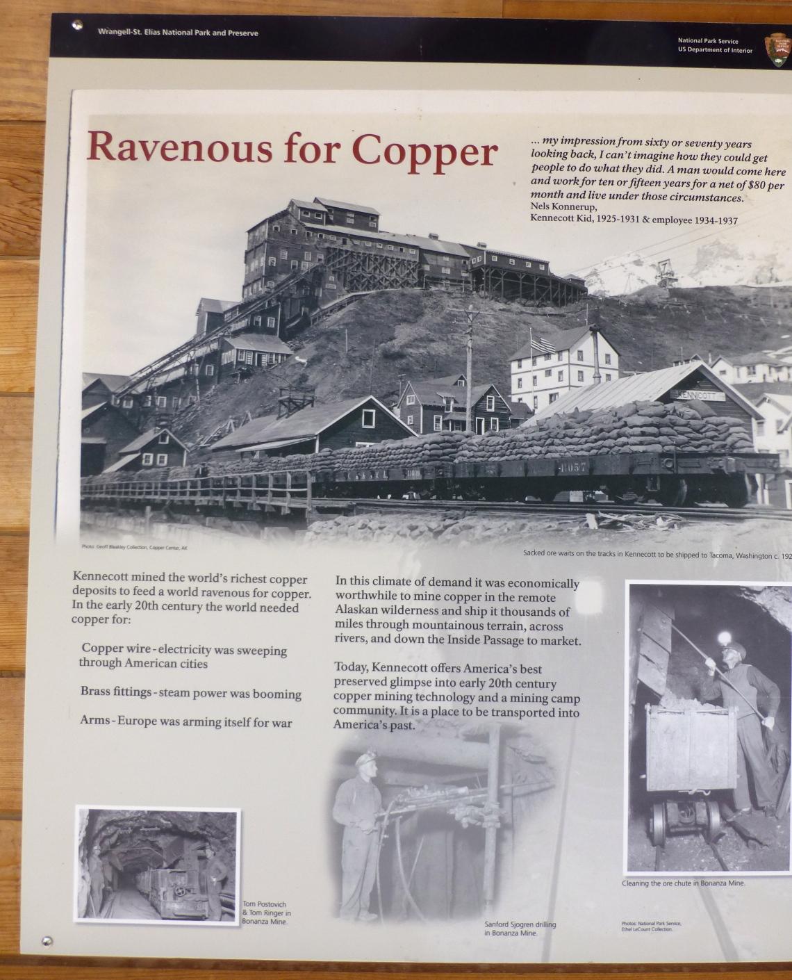 Kennecott Copper Mill,Alaska