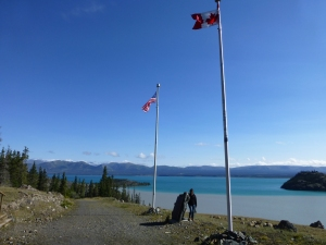 Soldiers Summit, Kluane lake
