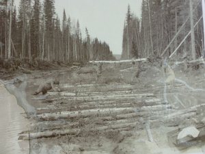 How the original Alaska highway was built