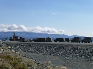 Alaska Highway Convoy