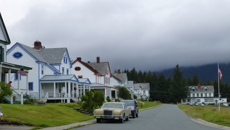 Officers Row, Haines Alaska
