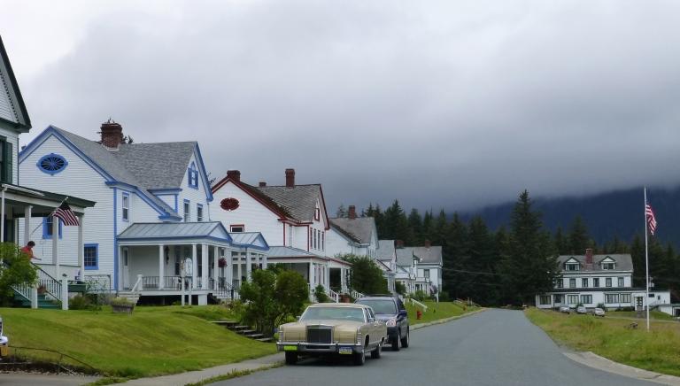 Officers Row, Haines Alaska