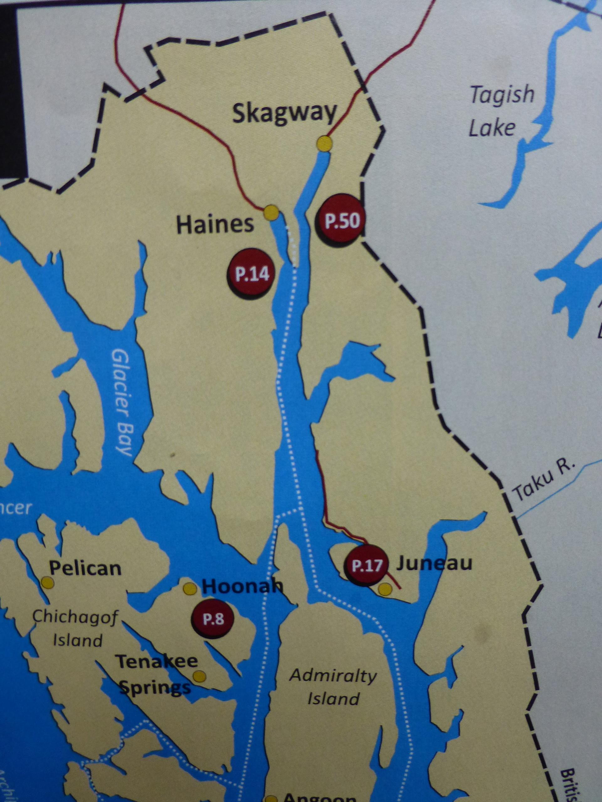Island Hopping Via Ferry  Skagway Juneau And Hoonah