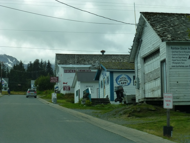 Soapsuds Alley, Haines Alaska