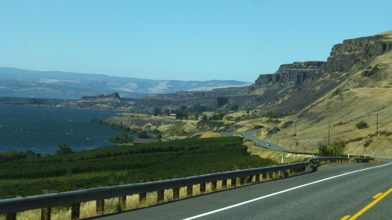 Rock Formation, Columbia Gorge