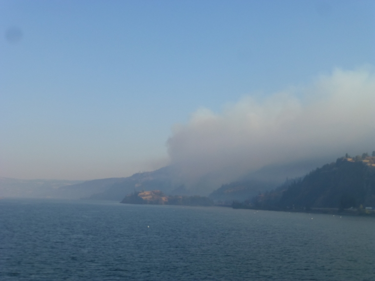 fires at the Columbia River Gorge