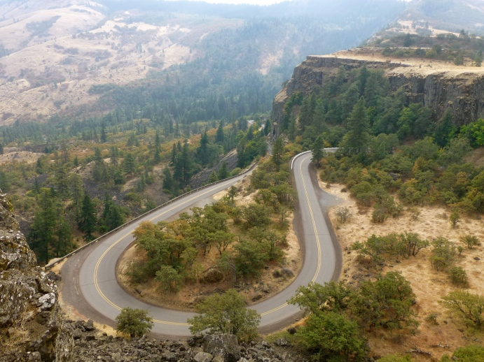 Rowena Loops, Columbia River Gorge