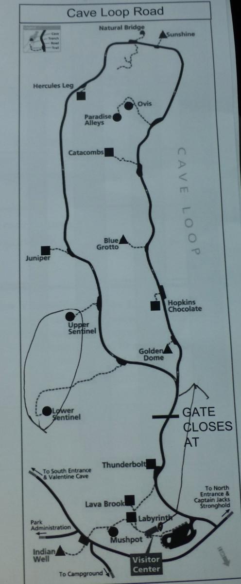 Cave Loop Map