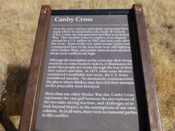 Story of Canby's Cross