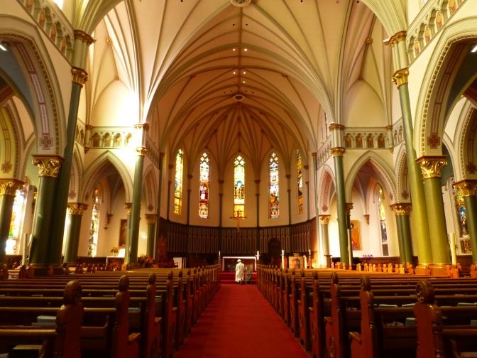 Inside St Andrews Church