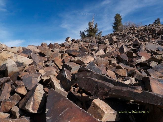 Red Quartzite Rocks
