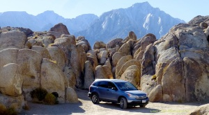Canyon in Alabama Hills